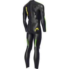 Head SwimRun Race Suit Herre black